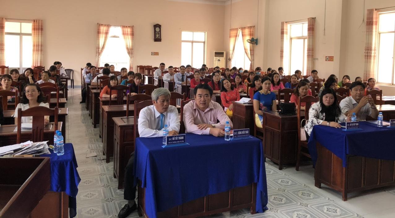Toàn cảnh buổi lễ khai giảng lớp học