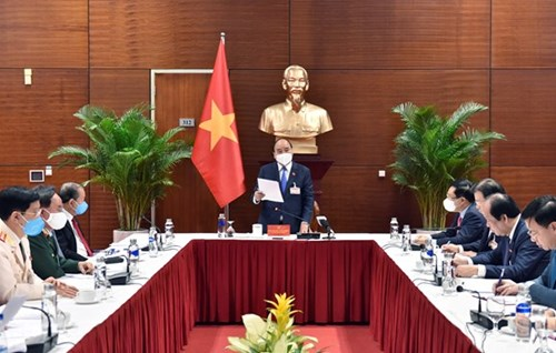 Thủ tướng Nguyễn Xuân Phúc chủ trì họp khẩn về tình hình dịch Covid-19 khi phát hiện thêm 82 trường hợp dương tính mới (Nguồn: https://ncov.moh.gov.vn): :