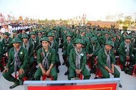 Thanh niên Thành phố Hồ Chí Minh lên đường nhập ngũ ngày 21-2-2021, Nguồn TTXVN