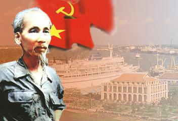 Chủ tịch Hồ Chí Minh (Ảnh tư liệu)